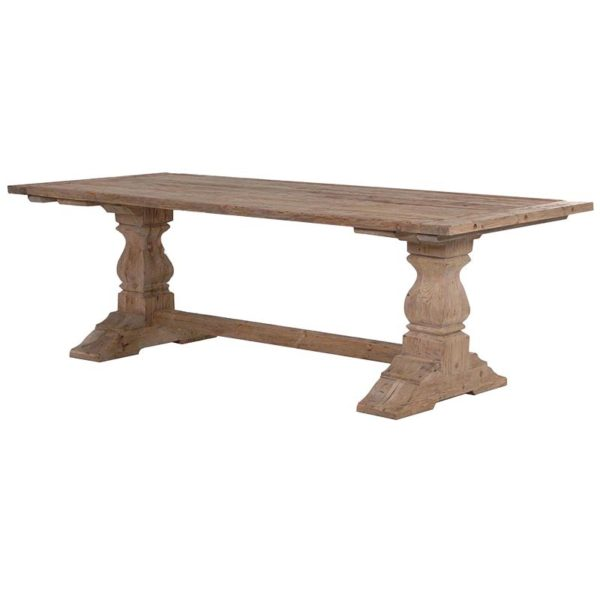 Reclaimed Pine Refectory Table