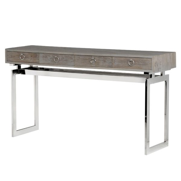 Console Table Stainless Steel Base