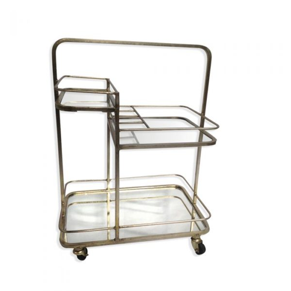 three tiered trolley