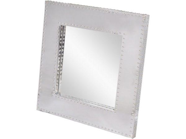 aviator style square mirror