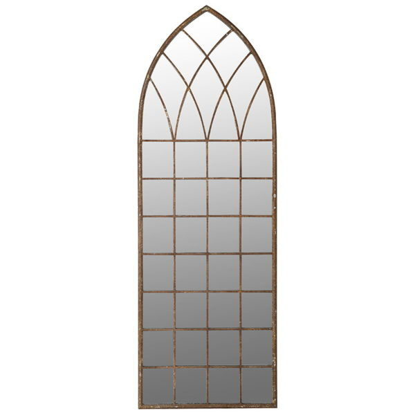 Tall Arched Wall Mirror